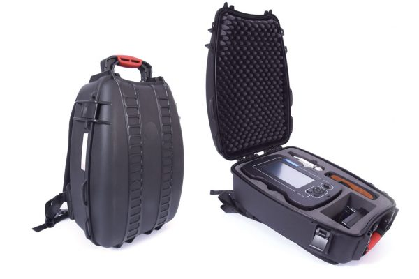 New crushproof Backpack for Visioprobe